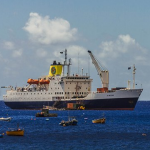 The Sun Sets on RMS St Helena