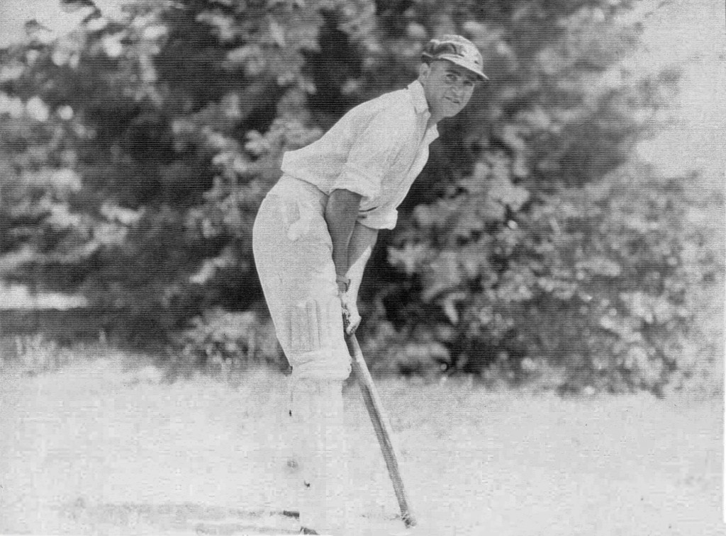 Alf Stafford, a Gamilaroi and Darug man, opened the batting for St George, First Grade, in the 1920s while Donald Bradman batted at number three. Their relationship, perhaps because of Stafford's Indigenous heritage, was ambivalent. (picture: AIATSIS Collection, courtesy Michelle Flynn)