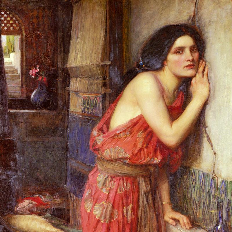 John_William_Waterhouse_-_Thisbe,_1909