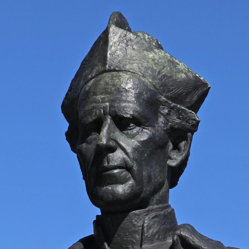 Bronze Statue of Daniel Mannix