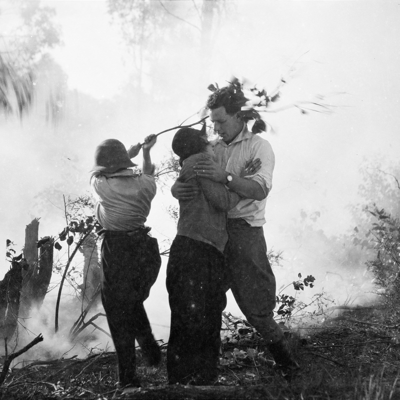 film_party_in_the_bush_in_a_bushfire_ca-_1925_original_envelope_marked_-mr_marks-_portraits_incl-_and_a_c_and_w_cinema_camera-_possibly_the_film_-joe-_1924_by_sam_hood_5938934182