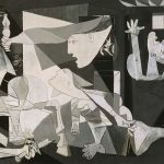 Walking to Gernika with Picasso's Guernica