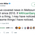 Ganging up on African Australians