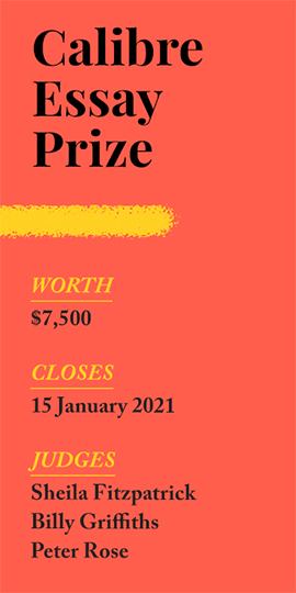 Enter the $7,500 Calibre Essay Prize!